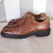 GBX  leather shoes sz 11 brown ,OXFORDS lace  up ,  P