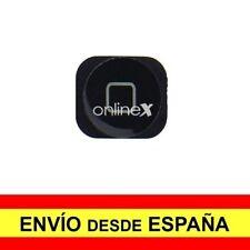 Botón para iPhone 5, 5c Negro Nuevo ¡Envío desde España! a3135