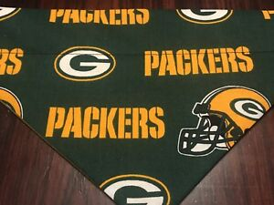 Green Bay Packers NFL  Over The Collar Dog Bandana