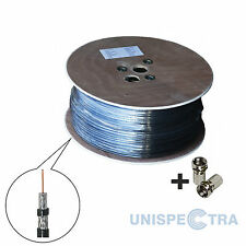 20m RG6 ENHANCED SHIELDING CABLE FOR SATELITE VIRGIN MEDIA SKY AERIAL INSTALLS