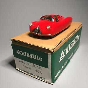AUTOSTILE BRIANZA 10 ALFA ROMEO 163 - 1941 - RED 1:43 RARE - EXCELLENT IN BOX