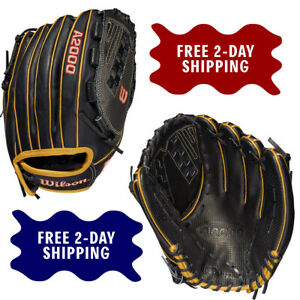 "2021 Wilson A2000 12.5"" Faspitch Softball Glove SCV125 Spin Control Model"