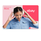 Because You Love Music - eBay Digital Gift Card $15 to $200