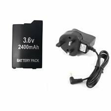 3.6V Rechargeable Battery for Sony PSP 2000/3000 PSP-S110 Console +UK AC Adapter