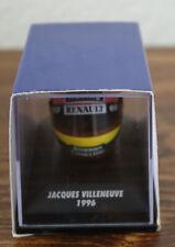 Jacques Villeneuve 1997 1:8 Helmet MiniChamps, Pauls Model Art Formula 1 in case