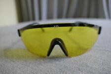 Silencio Yellow Lens Black Frame Sd Z87.I Gun Range Shooting Safety Glasses