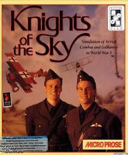 Knights of the Sky + Manual PC classic ariel air combat pilot war bi-wing game!