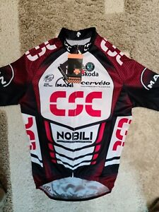 Team CSC Descente Jersey, New With Tags