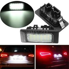 2x 18 LED Error Free Number License Plate Light Lamp For VW JETTA Mk6 2011-2015