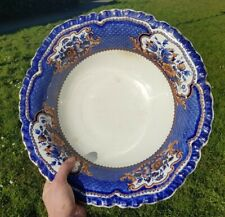 More details for antique huge 19th century booths victoria stone china wash bowl basin