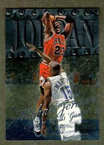 Michael Jordan 1998 Metal Universe #1 Mint Condition!!
