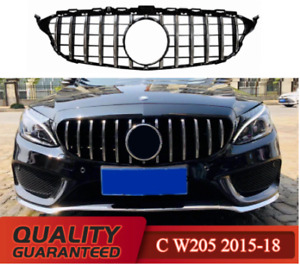 Suitable For Mercedes Class C W205 GT GRILLE
