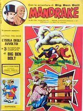 MANDRAKE IL VASCELLO N.67 1974 CRONOLOGICA  BIG BEN BOLT