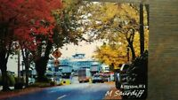 BEAUTIFUL PHOTO POST CARD THE FERRY DOCK KINGSTON WASHINGTON PUGET SOUND FERRIES