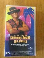 CROCODILE DUNDEE IN LOS ANGELES - PAUL HOGAN ON VHS TAPE.  LIKE NEW