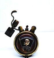 Vintage Petrol Lighter Komsomol USSR Handmade