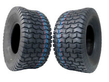 2 Pack MASSFX 18x8.5-8 Golf Cart Tires 18x8.50-8 18x8.5x8 4PLY 5mm Tread Depth