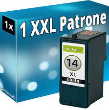 1x XXL TINTE PATRONEN für LEXMARK 14 X2600 X2620 X2630 X2650 X2670 Z2300 Z2320