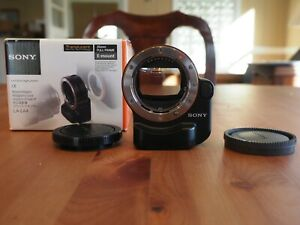 Sony LA-EA4  A-Mount to E-Mount Lens Adapter with Translucent Mirror