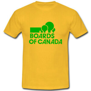 Boards of Canada Scottish electronic music duo band premium cotton T-shirt tee