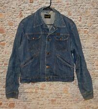 Vintage 1980's WRANGLER Denim Jean Jacket Men's Size 40 Made in USA