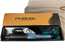 Phoebe Curling Iron Brush Dual Voltage 1inch Ceramic Tourmaline Ionic Hair Curle