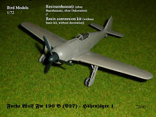 Focke Wulf Fw 190 B (V27) Höhenjäger 1   1/72 Bird Models Mischkit / Mixed kit