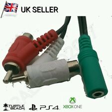 Conector hembra de audio RCA Cable Divisor 4 TURTLE BEACH ® Gaming Auriculares
