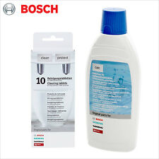 Genuine Bosch Descaler & Cleaning Tablets Coffee Machine - 311813 Decalcifier