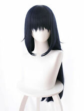 That Time I Got Reincarnated As A Slime Shizu Cosplay Costume Navy Blue Wig