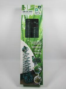 Roots & Shoots 30M Coil Hose For Garden Use Light Weight Kink Resistant *New*