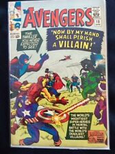 The Avengers, Marvel Comic Book - Volume1, Number 15, April, 1965, Condition VF+