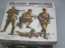 Vintage   TAMIYA MM122  Military Miniatures - 1/35 scale Russian Infantry