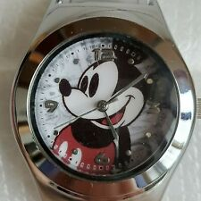 Disney Mickey Mouse Stainless Steel Stretchable Bangle Watch
