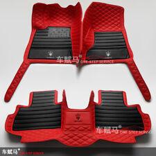 Car Floor Mats Cargo/Trunk For Maserati Ghibli Levante Quattroporte GranTurismo