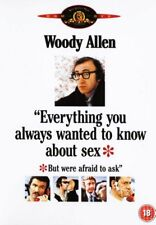 EVERYTHING YOU ALWAYS WANTED TO KNOW ABOUT SEX DVD w/WOODY ALLEN & BURT REYNOLDS