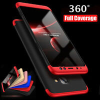 For Samsung Galaxy S9 A8 Plus Shockproof Hybrid 360° Protective Hard Case Cover