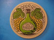 Vintage Beer Coaster ~*~ Engelberger Klosterbräu Bier ~*~ Engelberg, Switzerland