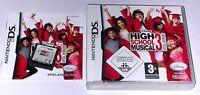 Spiel: HIGH SCHOOL MUSICAL 3 für den Nintendo DS + Lite + Dsi + XL + 3DS 2DS