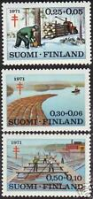Timber Floating Forest Industry 1971 Finland MNH