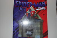 SPIDER-MAN CLOCK TOWER WALL STATUE DIAMOND SELECT MIB PLAN B(BUST MARVEL FIGURE)