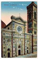Old Postcard 1910 FIRENZE La Cattedrale ITALY FLORENCE Postal Cartolina ITALIA
