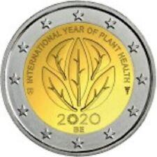 2 euro 2020 BELGIO year plant health Belgium Belgique België Bélgica Belgien
