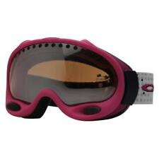 Oakley Custom A FRAME Hot Pink w/ VR28 Lens Womens Kids Snow Board Ski Goggles .