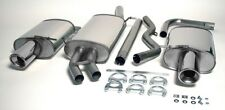 Audi A4 (B6) 2WD 1.8T Saloon 01-05 Stainless Jetex Half Sys 44DH2R