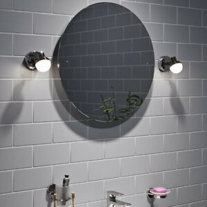 CGC Chrome Silver Spotlight Adjustable Modern Wall Light Ceiling Round Shade