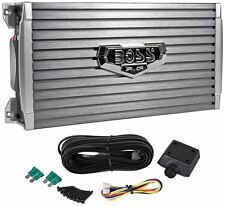 Boss Audio Armor AR1600.2 1600 Watt 2-Channel Car Audio Amplifier Amp+Remote