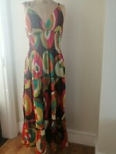 Women's 1970s hippie Boho Gypsy ethnic African  Dress Size 14