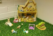 Sylvanian Familes Rainbow Nursery Furnished with Figures & Accessories