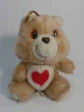 "Vintage Kenner Care Bears Tenderheart Bear 7.5"" Collectible Stuffed Animal Toy"